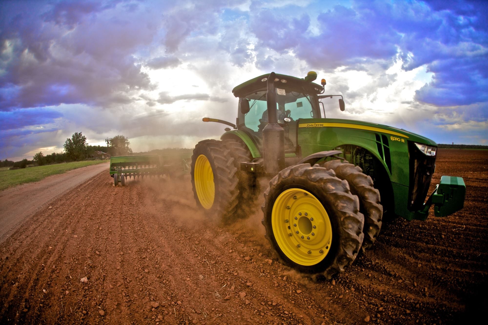 Large Ag Row Crop and 4 Wheel Drive Tractors
